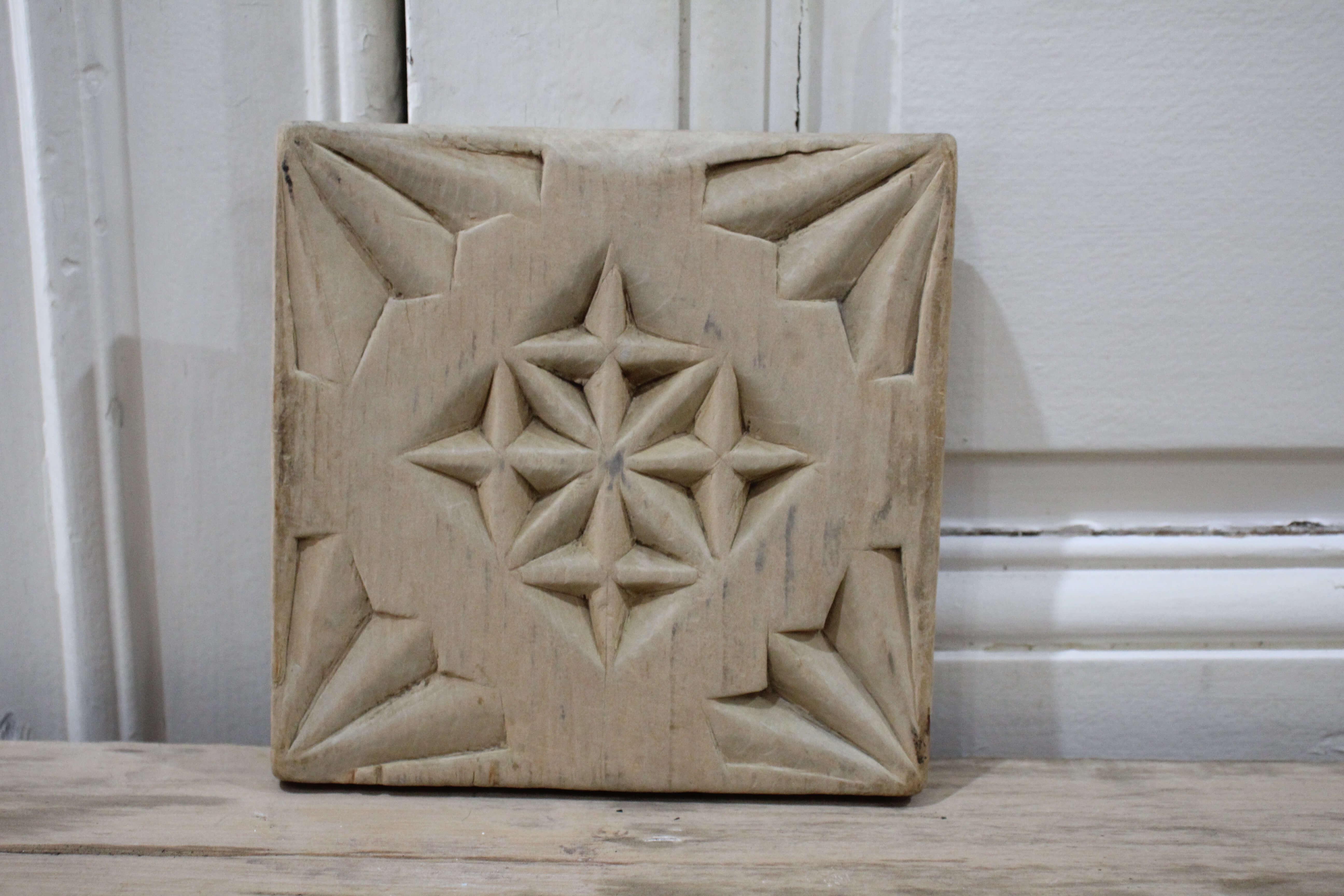 Carved trivet
