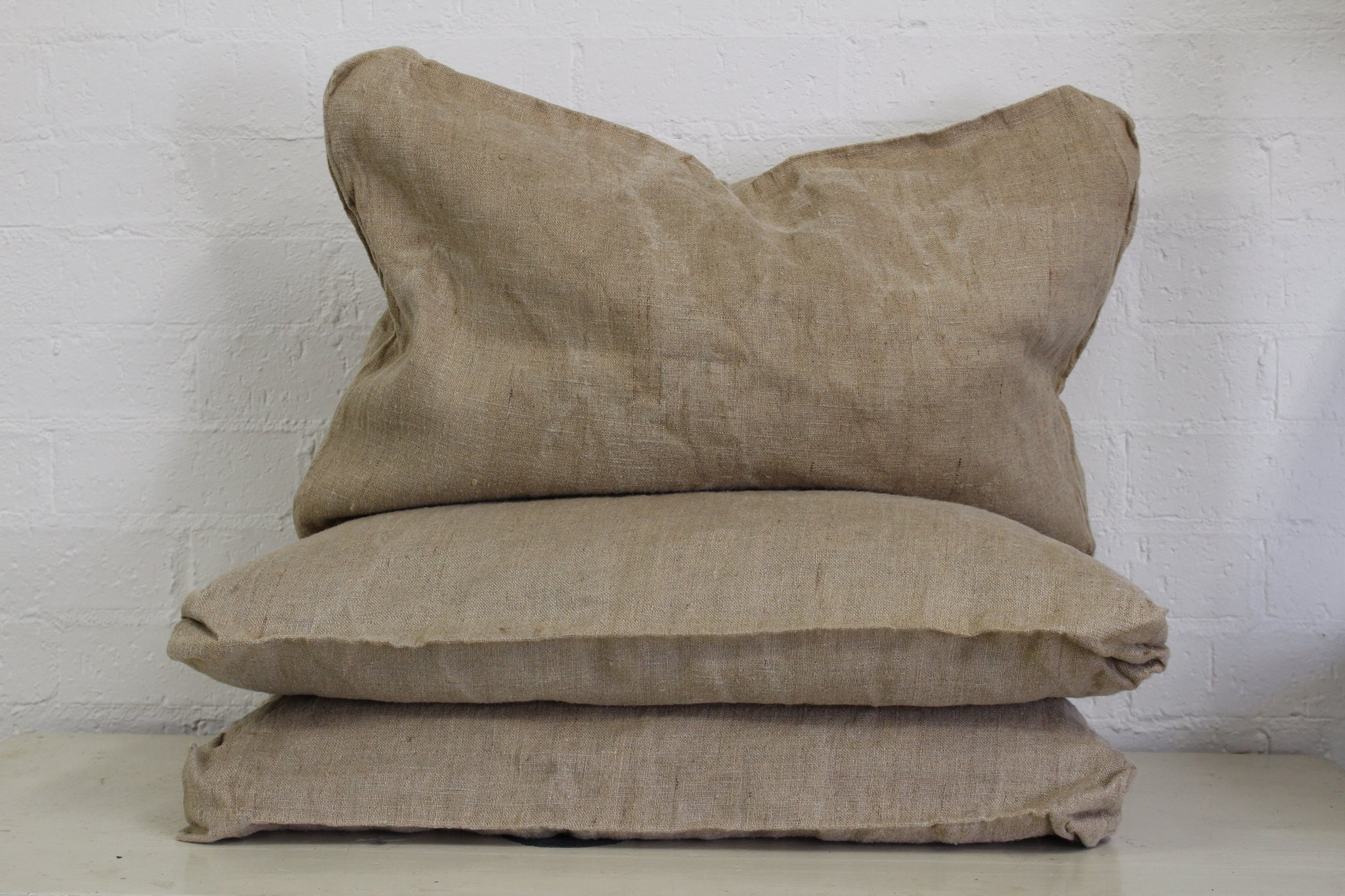 French Linen Pillow Covers