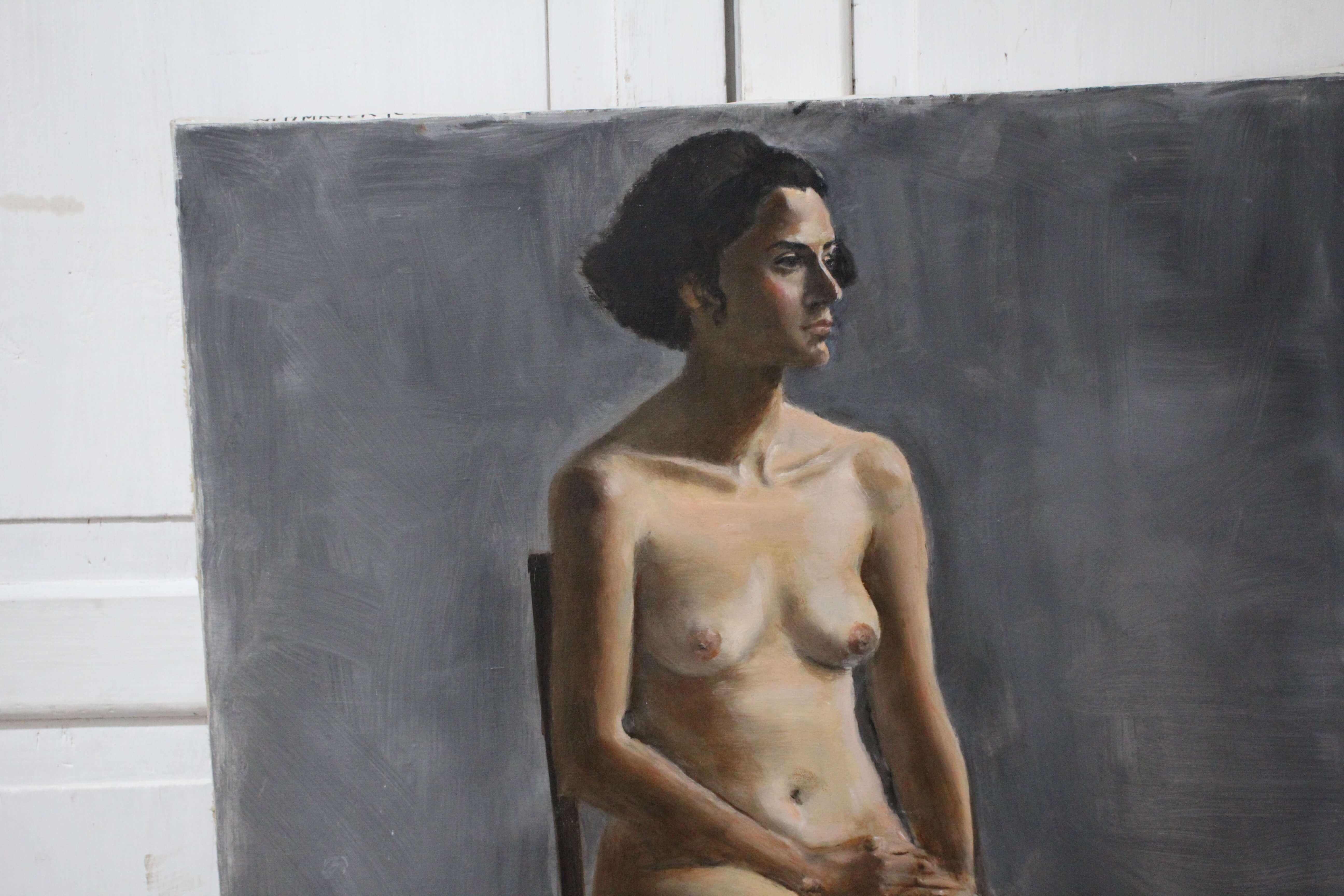 Large Mid Century Nude