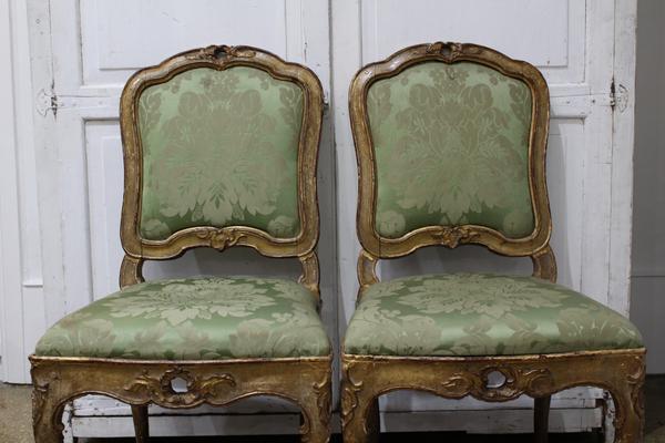Italian Rococo Chairs