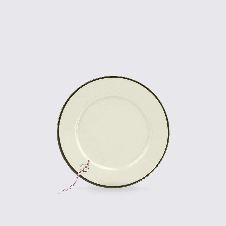 Heber Enamel Plate