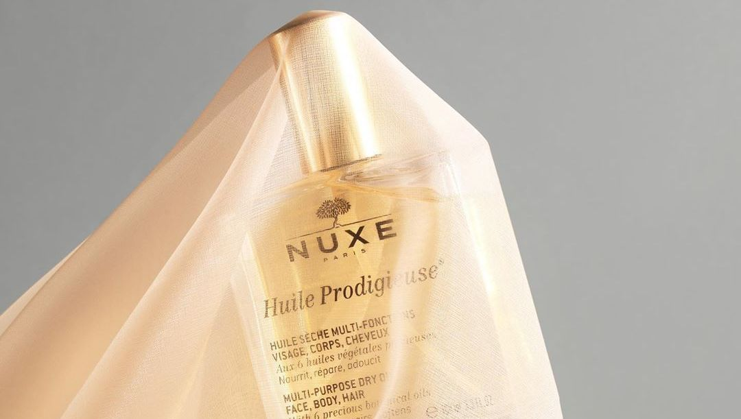 Nuxe dry oil  multi purpose for face body and hair