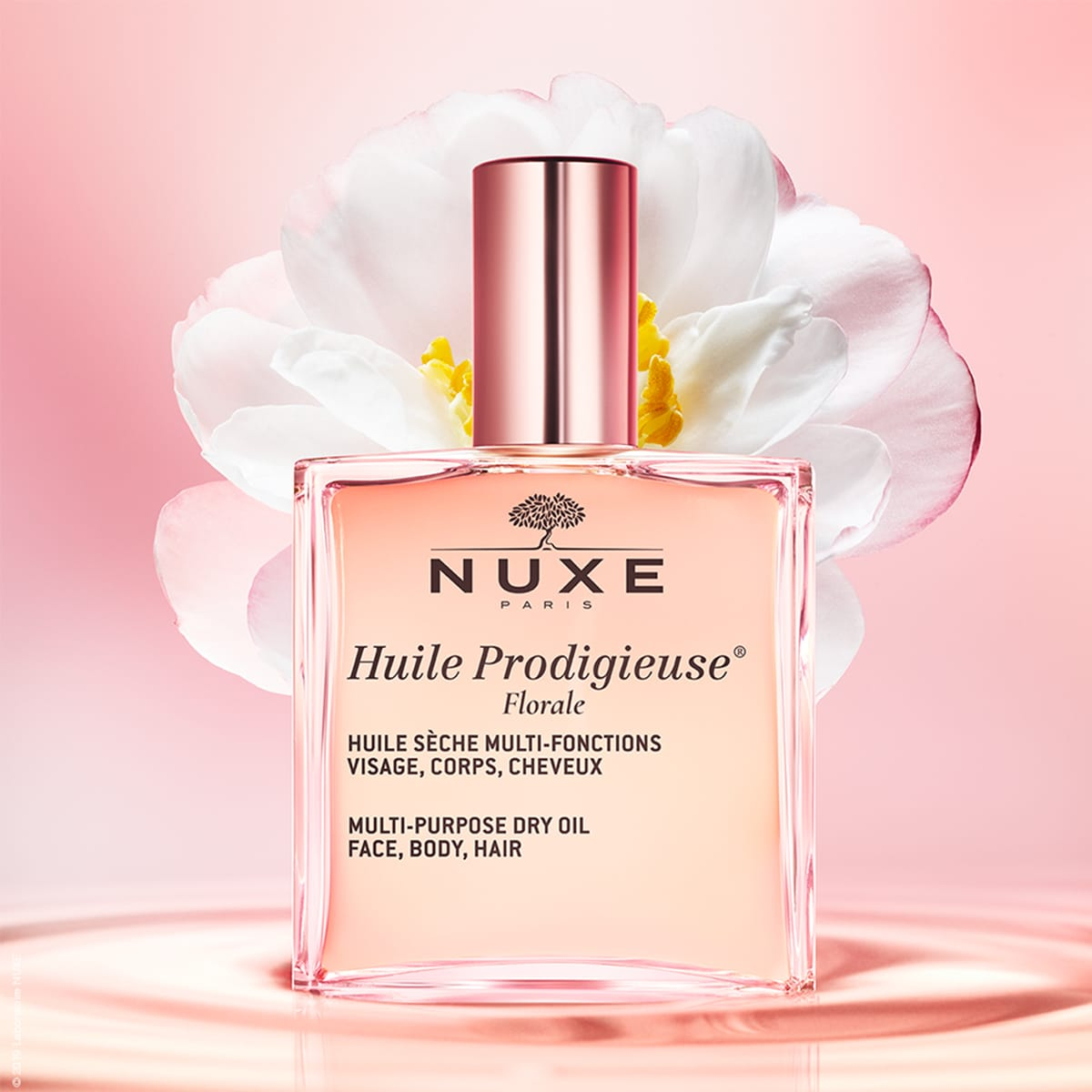 Nuxe dry oil floral