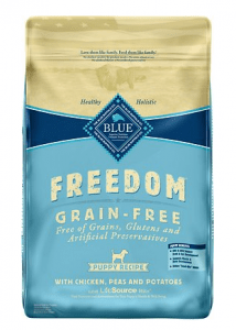 Blue Buffalo grain free dog food DCM cases reported