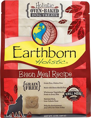 Earthborn Holistic grain free dog food DCM cases reported