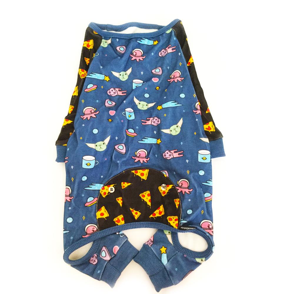 Baby yoda Frenchie French Bulldog pajamas made by Frenchiestore