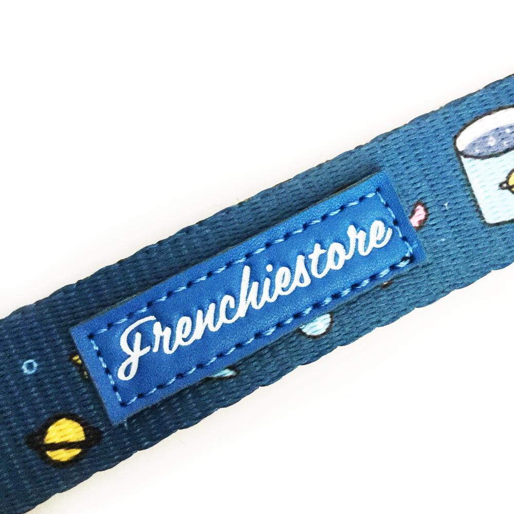 Vegan leather Frenchiestore® branding.