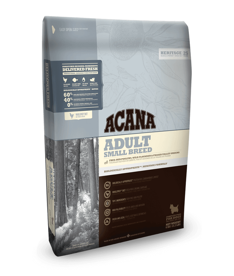 Acana grain free dog food DCM cases reported