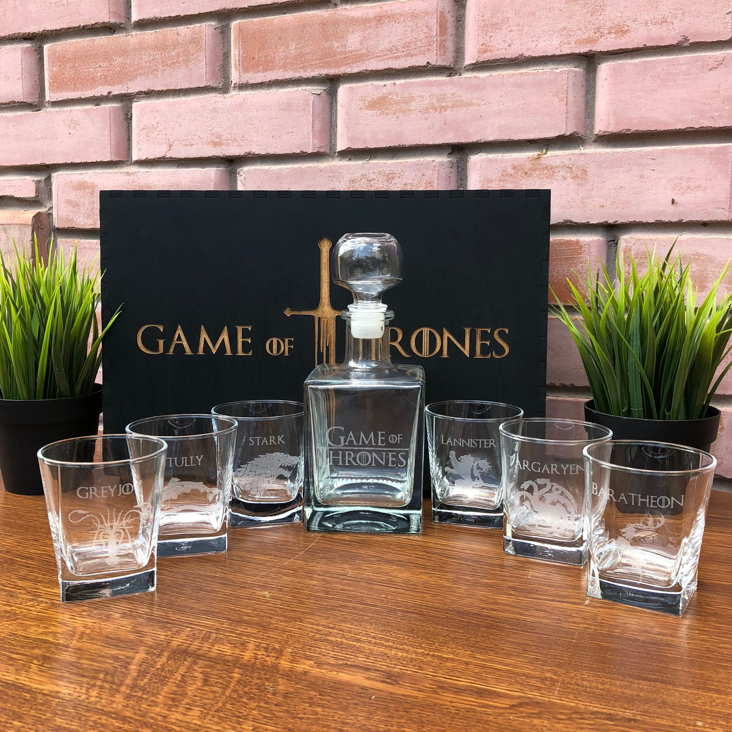 Game of Thrones Whiskey Decanter