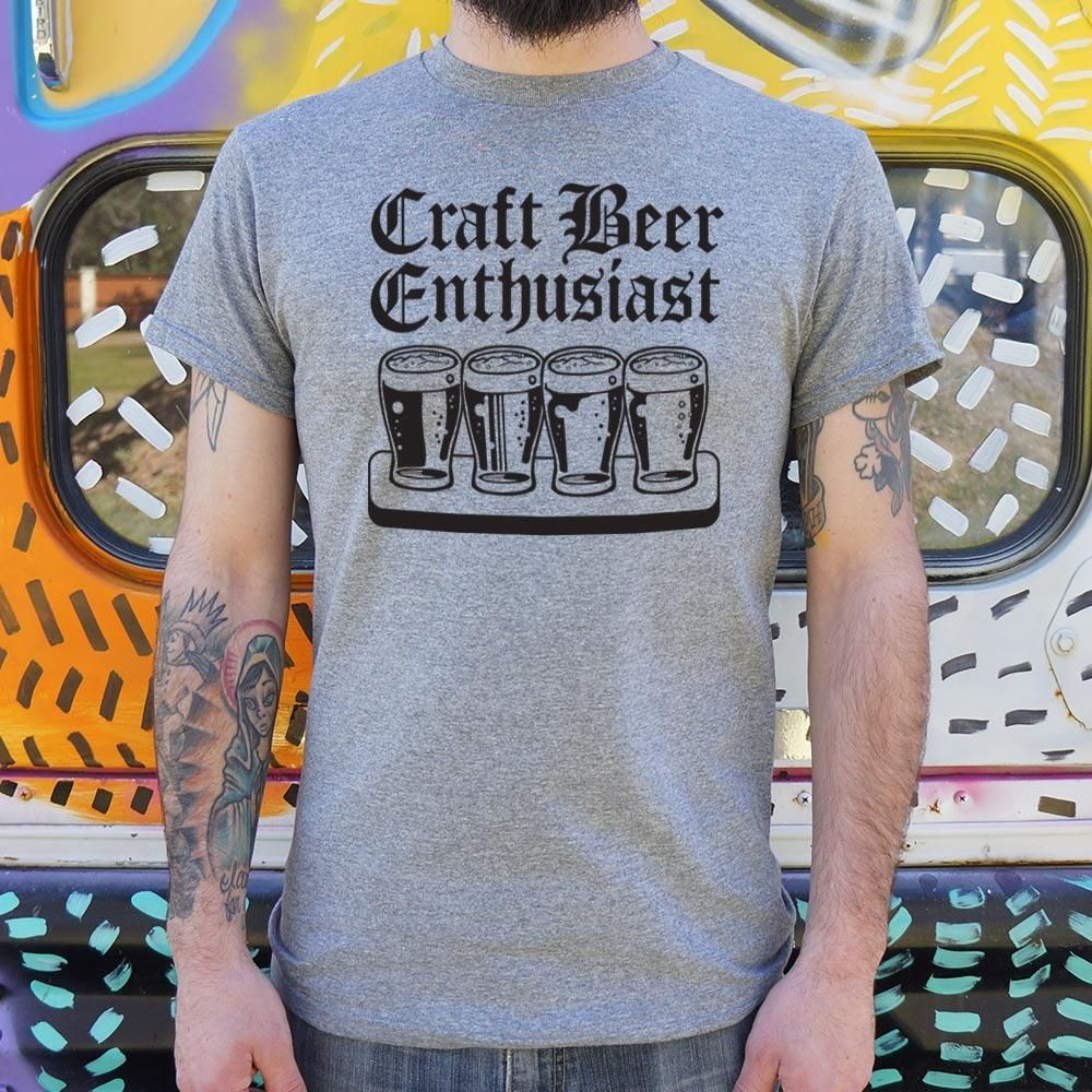 Craft Beer Enthusiast T-Shirt