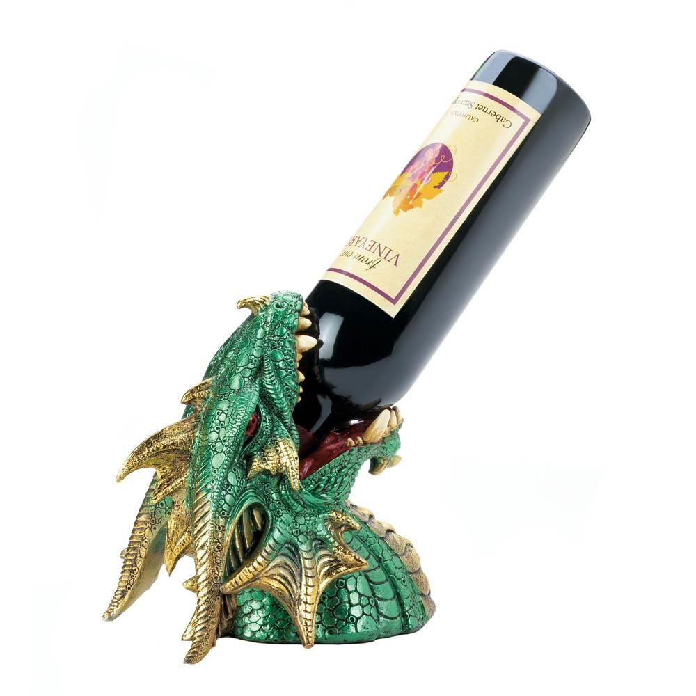 Dragon Head Wine Bottle Holder