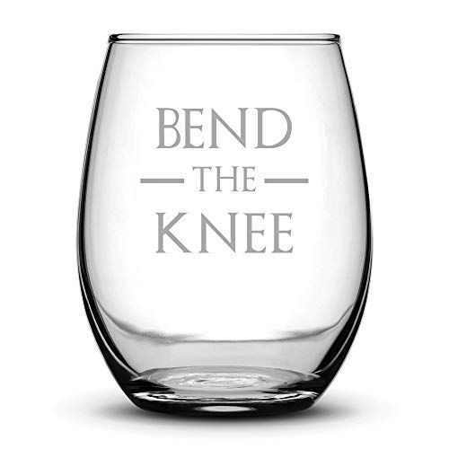Bend the Knee Wine Glass