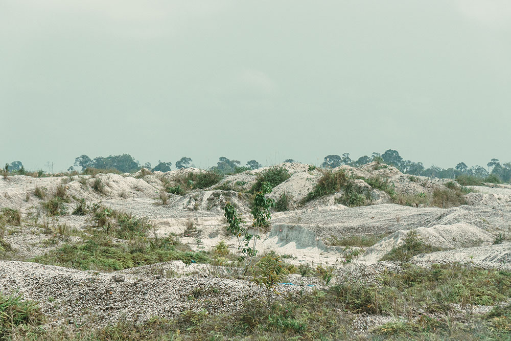 The damage from gold mining in Central Kalimantan affects not only the environment, but also its people