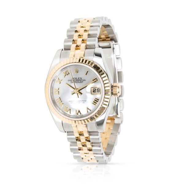 1. Rolex Datejust 179173 Women's Watch in 18kt Stainless Steel/Yellow Gold
