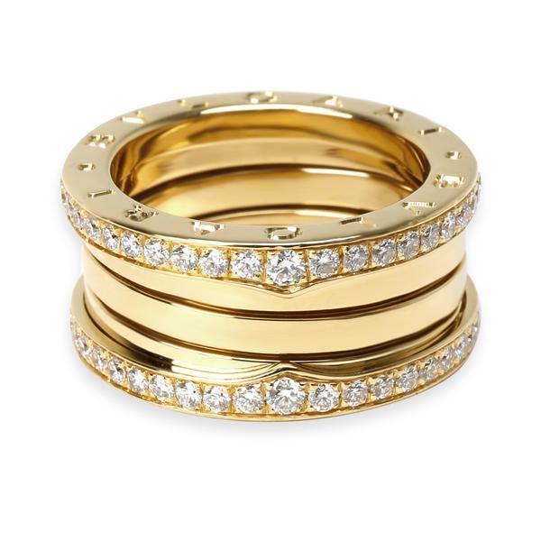 Bulgari B.zero1 Diamond Ring in 18K Yellow Gold