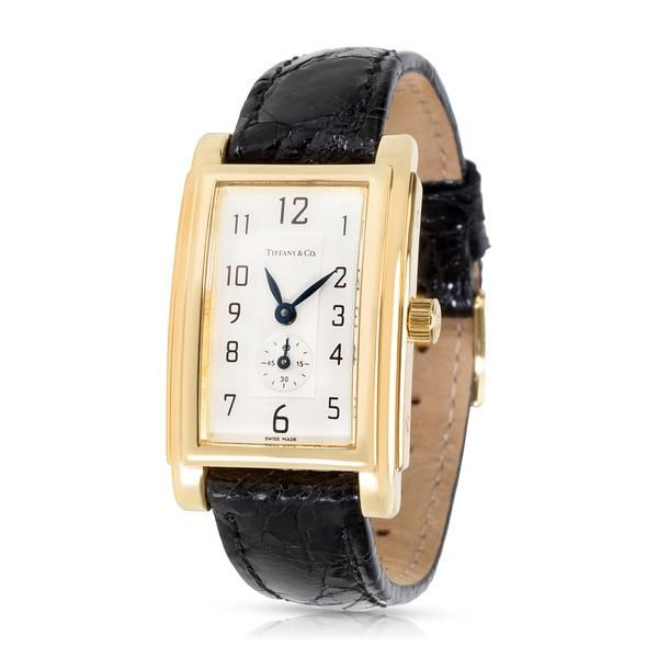Tiffany & Co. Resonator Dress Women's Watch in 18K Yellow Gold