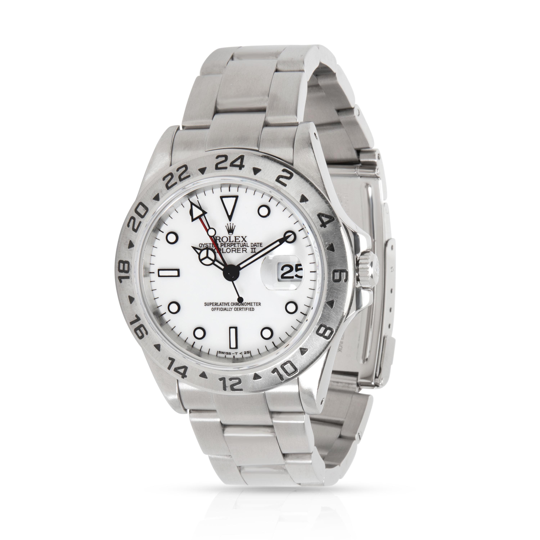 Rolex Explorer II 16570 Men's Watch in Stainless Steel
