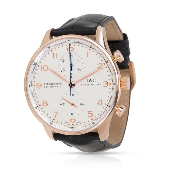 IWC Portugieser IW371480 Men's Watch in 18K Rose Gold