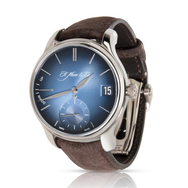 H. Moser & Cie. Endeavour Perpetual 1341-0207 Men's Watch in 18kt White Gold