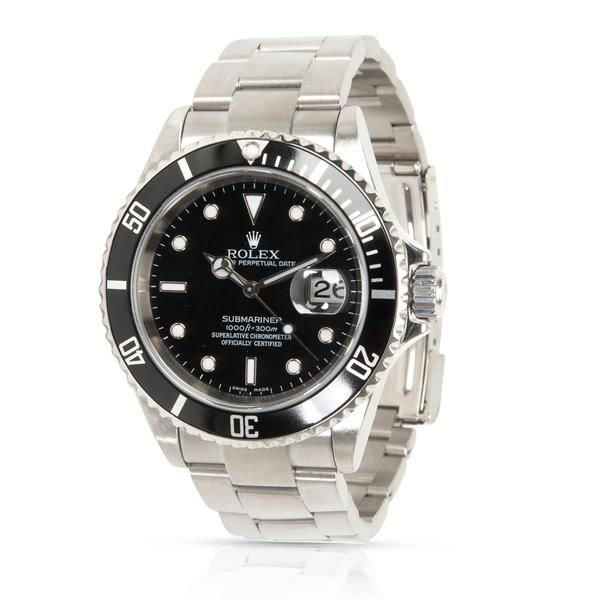 Rolex Submariner 16610 Men's Watch in Stainless Steel