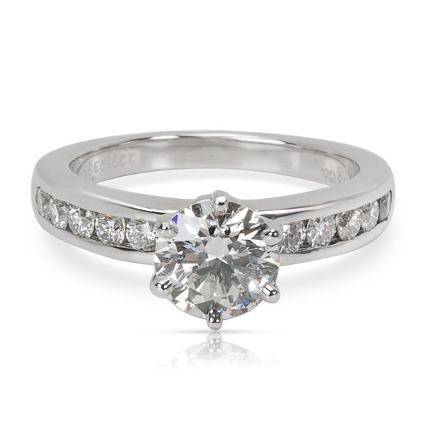 Tiffany & Co. Diamond Engagement Ring (1.07 ct I/VVS1, 1.37 CTW)