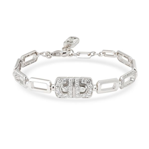 Bulgari Parentesi Diamond Bracelet in 18K White Gold (1.50 CTW)