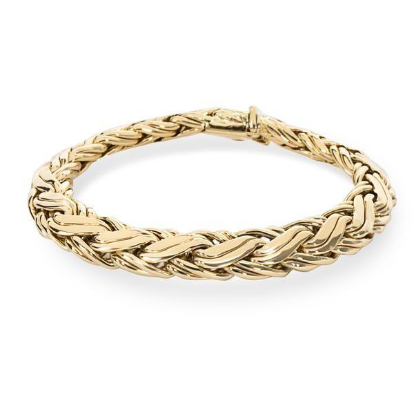 Tiffany & Co. Woven Vintage Bracelet in 14K Yellow Gold