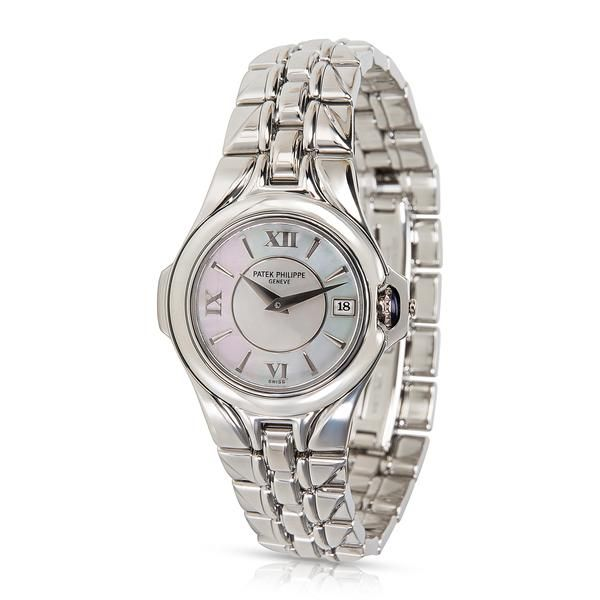 5. Patek Philippe Sculpture 4891/1A-001 Women's Watch in Stainless Steel