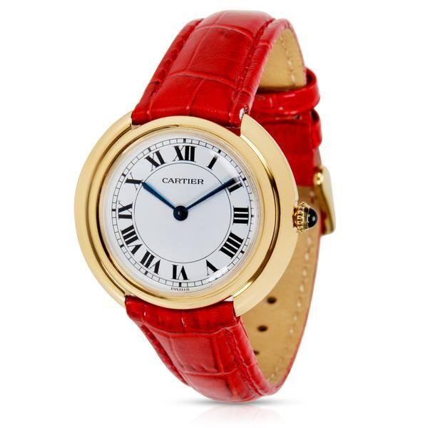 Cartier Dress Women's Manual Watch in 18K Yellow Gold