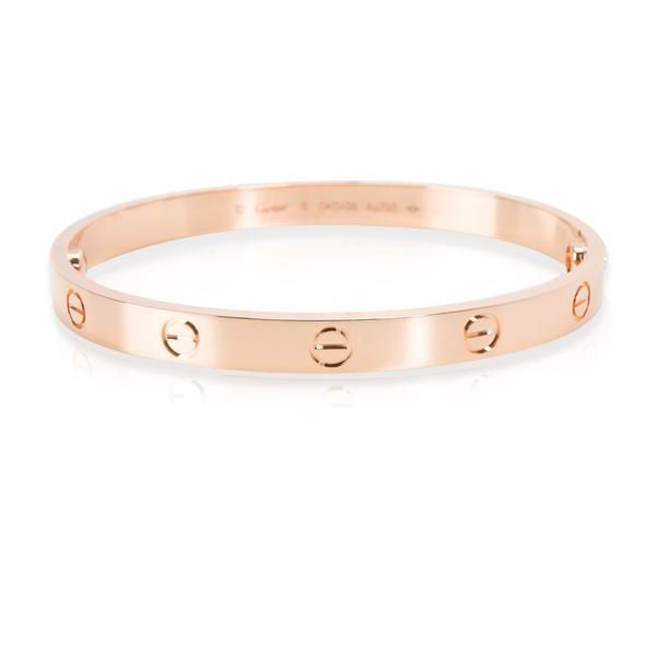 Cartier Love Bangle in 18K Rose Gold