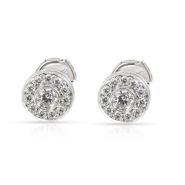 Tiffany & Co. Circlet Diamond Earrings in Platinum 0.53 CTW