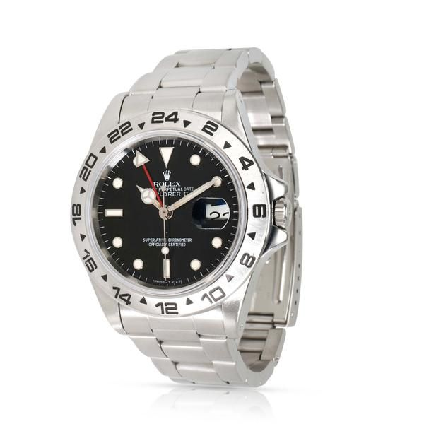 """Rolex Explorer II with a """"Spider Dial"""""""
