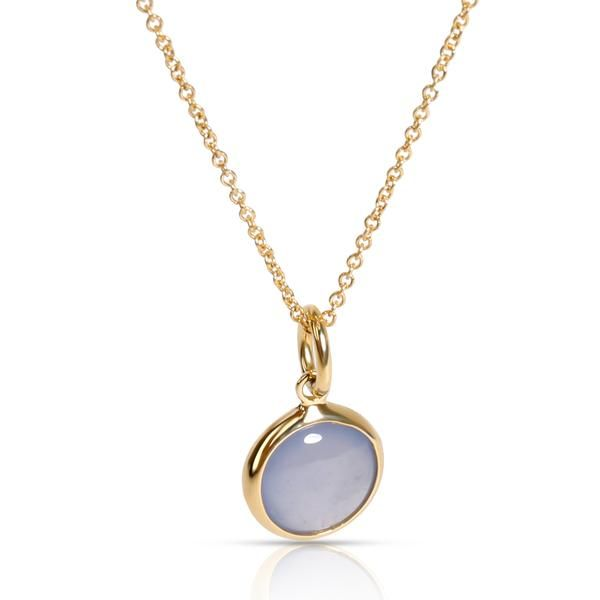 Tiffany & Co. Paloma Picasso Moonstone Pendant in 18K Yellow Gold