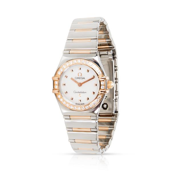 Omega Constellation 1368.71.00 Women's Watch in 18kt Stainless Steel/Rose Gold