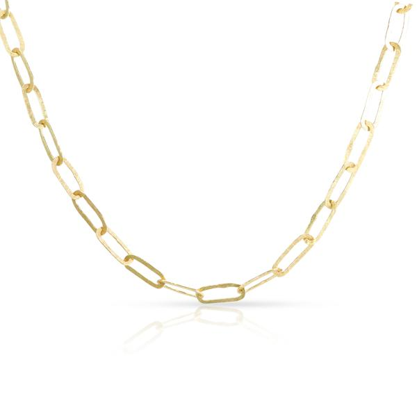 Sophie Hughes Thin Link Chain Necklace in 18KT Yellow Gold
