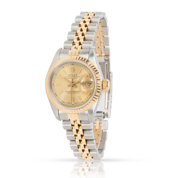 Rolex Datejust 69173 Women's Watch in 18K Yellow Gold & Stainless Steel