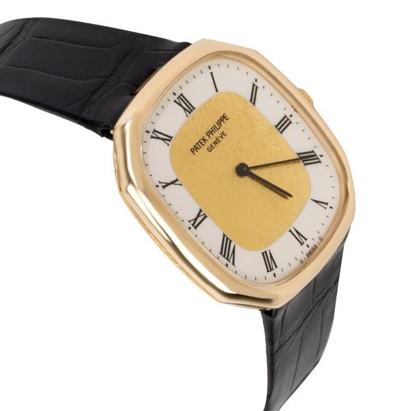 Patek Philippe Ellipse 3855 Men's Watch in 18kt Yellow Gold