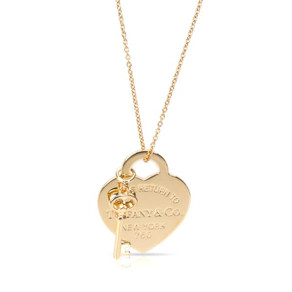 Tiffany & Co. Return to Tiffany Necklace in 18K Yellow Gold