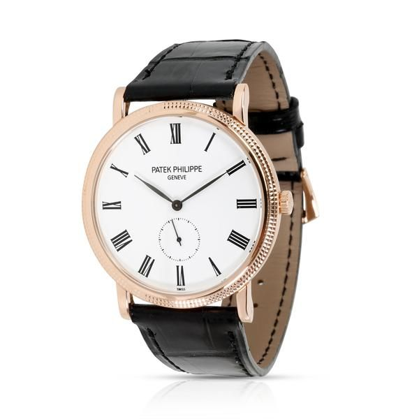 Patek Philippe Calatrava 5119R-001 Men's Watch in 18kt Rose Gold