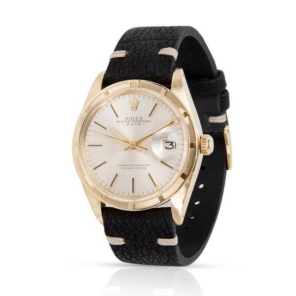 Rolex Date 1501 Men's Watch in 14K Yellow Gold