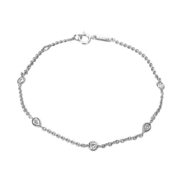De Beers Diamond Clea Bracelet in 18K White Gold (0.30 CTW)