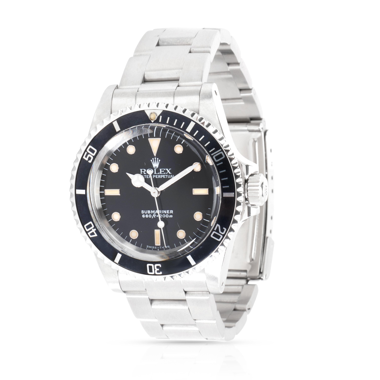 Vintage Rolex Submariner Men's Watch in Stainless Steel