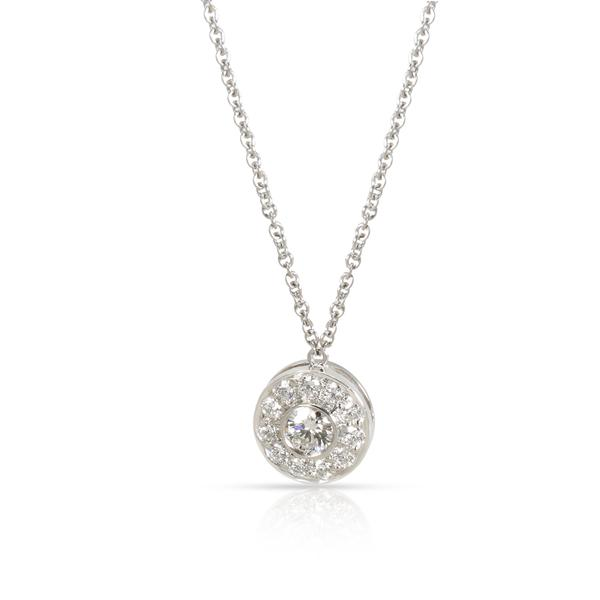 Tiffany & Co. Circlet Diamond Pendant in Platinum 0.3 CTW