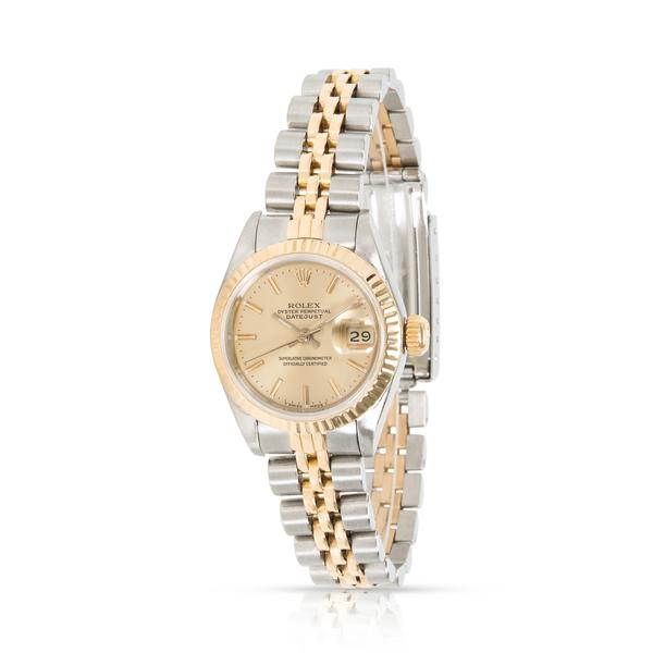 Rolex Datejust 69173 Women's Watch in 18kt Stainless Steel/Yellow Gold