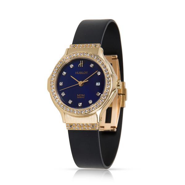 Hublot MDM 1391.3.054 Women's Watch in Yellow Gold