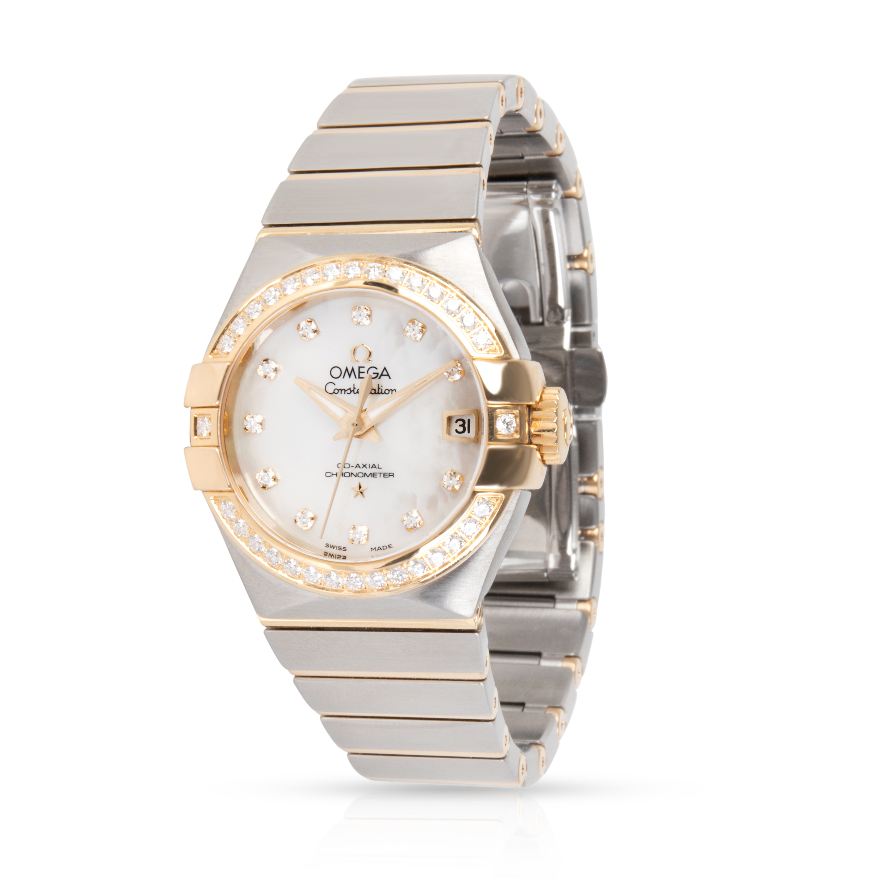 Omega Constellation 123.25.27.20.55.003 Women's Watch in Stainless Steel/Yellow Gold
