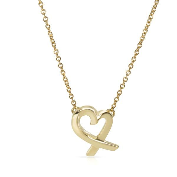 Tiffany & Co. Paloma Picasso Mini Loving Heart Pendant in 18K Yellow Gold
