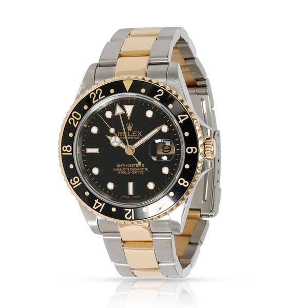 Rolex GMT Master II 16713 Men's Watch in 18kt Stainless Steel/Yellow Gold