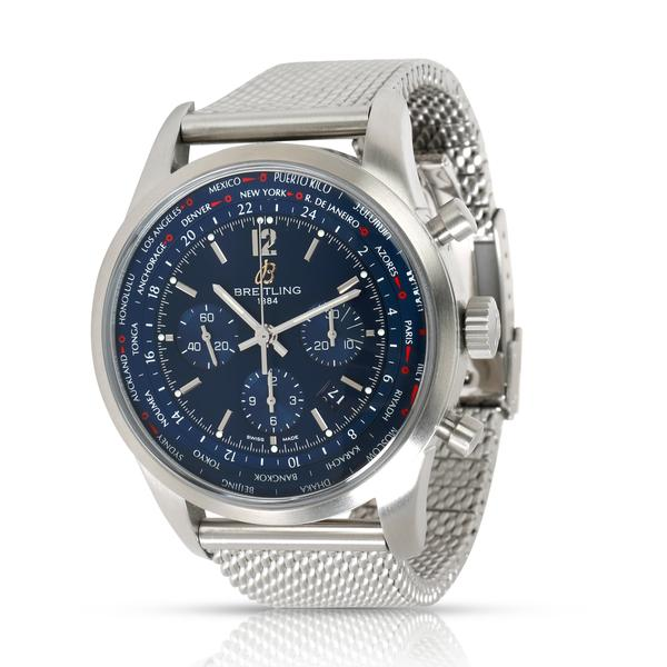 5.  Best entry level luxury watch for travelers: Breitling Transocean Chronograph Unitime