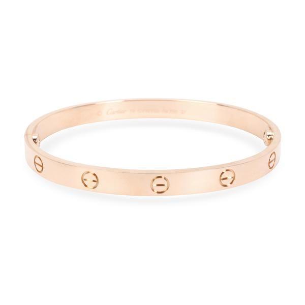 Cartier Love Bracelet in 18K Rose Gold Size 19